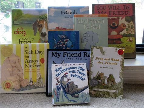 picture books friendship celebrating friendship and books to go along with the