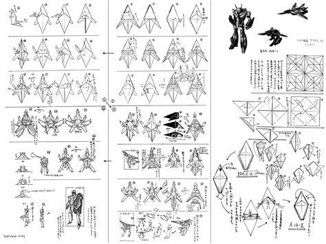 origami transformer origami macross transformer vf 1 valkyrie