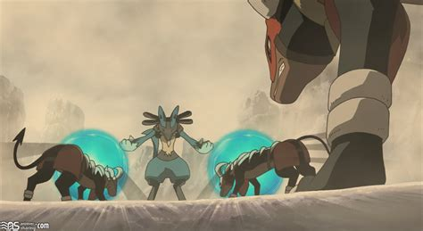 lucario and the mystery of mew bmp and the mystery of mew lucario images