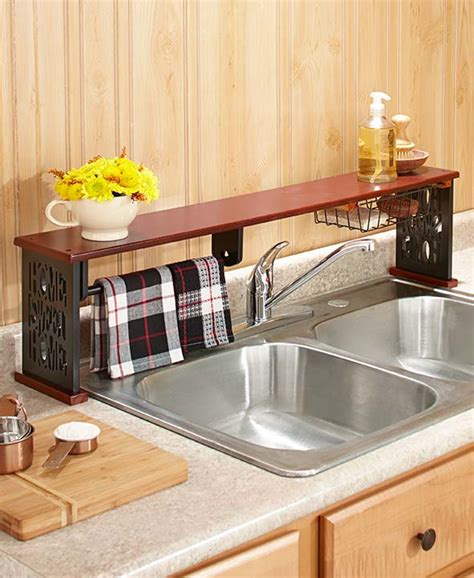 sink shelf kitchen the sink shelf w paper towel holder home sweet