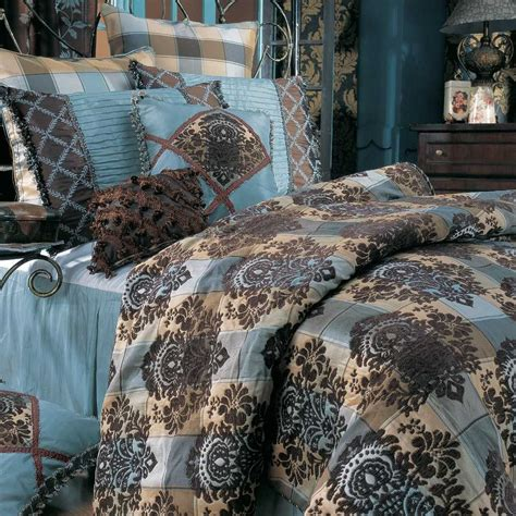 turquoise brown comforter sets coral and turquoise comforter bedroom ideas pictures