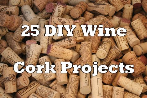 craft projects with corks 25 diy wine cork projects