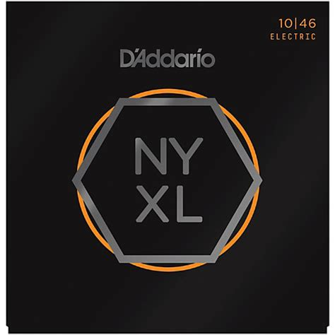 light guitar strings d addario nyxl1046 light electric guitar strings