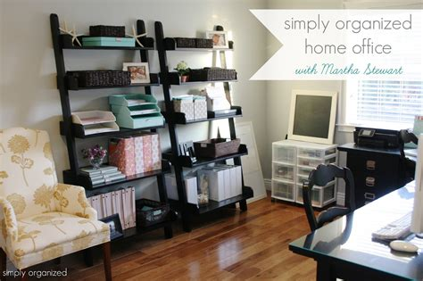 organized home office simply organized home office with martha stewart
