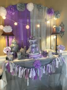 purple and green decorations purple and green baby shower decorations