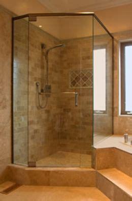 bathroom corner showers corner showers for small bathrooms idea