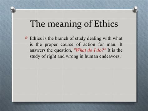 the definition of 04 buddhist ethics