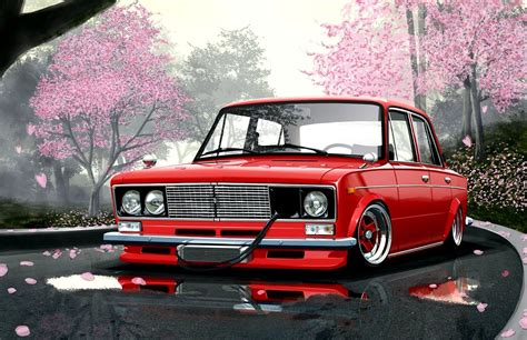 Japanese Car Wallpaper by Car Wallpapers Vaz 2106 Japan Style Roads