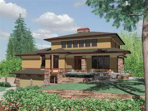 prairie style houses bloombety prairie style house plans with regular design