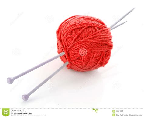 what size knitting needles for knit wool knitting needles and wool stock photo image 19801982