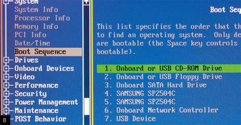 Modification Dans Le Bios by 1 Installez Windows Xp