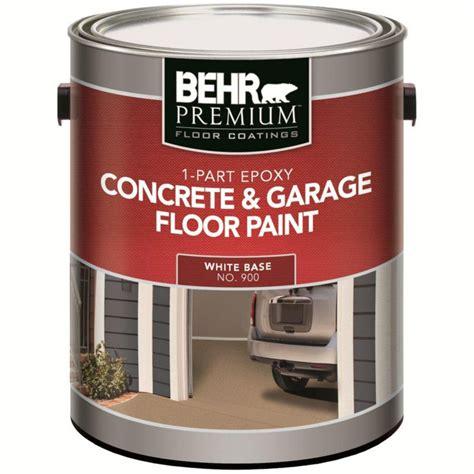 home depot paint colors and prices behr 1 part epoxy acrylic concrete garage floor paint
