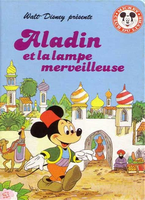 mickey club du livre 7 aladin et la le merveilleuse