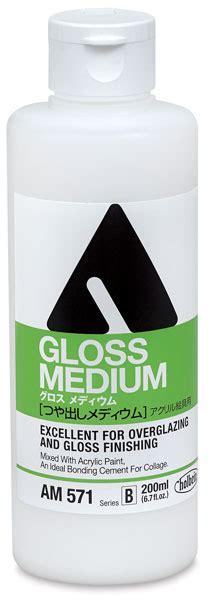 acrylic painting with gloss medium holbein acrylic gloss matte mediums blick materials