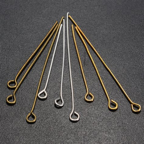 eye pins for jewelry 3 styles jewelry earring flat eye pins