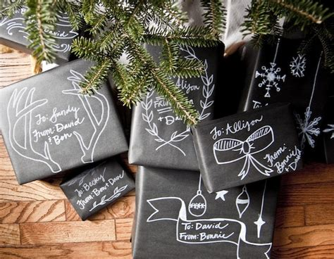 chalkboard craft paper tutorial chalkboard gift wrap going home to