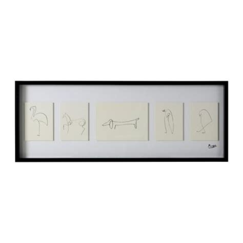 picasso paintings ikea picasso animal sketches