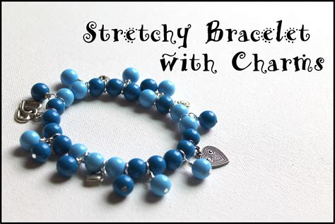 how to make a stretch bracelet with how to make a stretch bracelet with dangles and charms