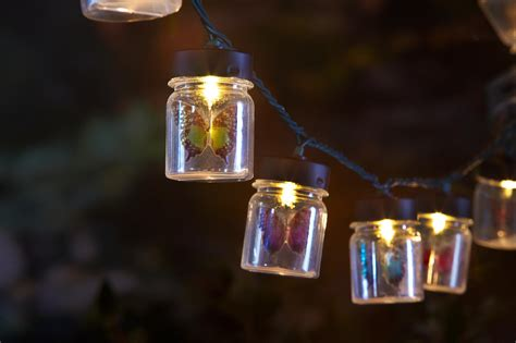 garden string lights essential garden 10ct string lights butterflies in jars