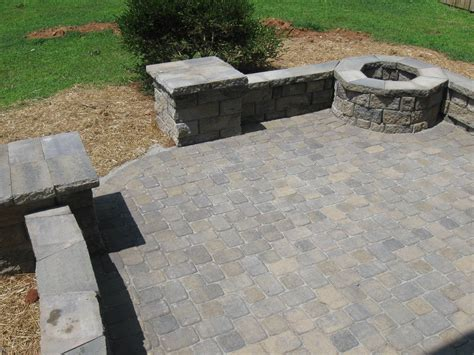 pit on patio pavers what are my options for patio s archadeck of