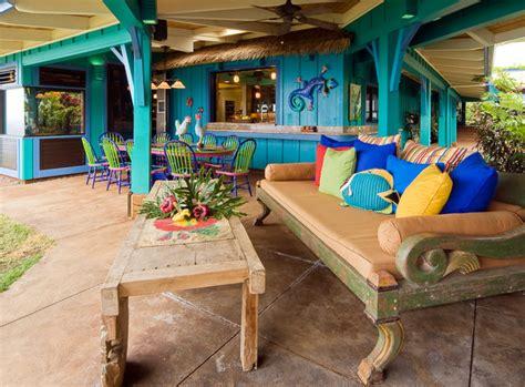 tropical patio design hawaiian cottage style tropical patio hawaii by