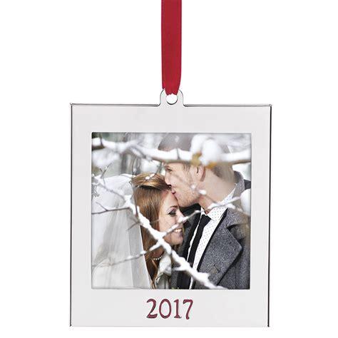 tree photo frame ornaments 2017 picture frame ornament lenox ornaments