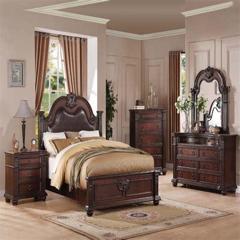 cherry bedroom furniture set formal luxury antique daruka cherry size 4
