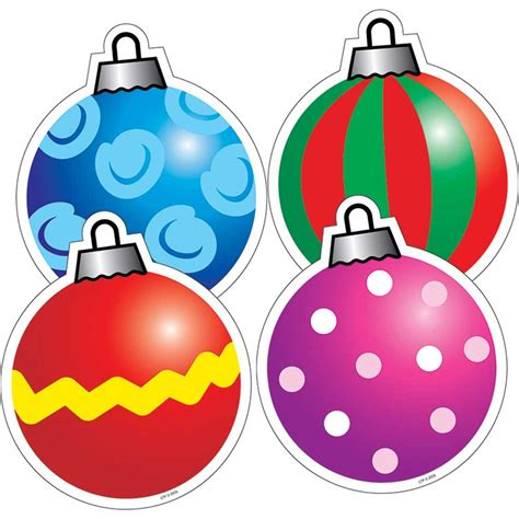 ornaments cut outs ornaments cut outs ctp4686 creative teaching