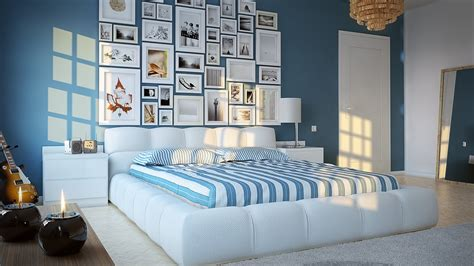 blue bedroom interior design blue and white bedroom design home pleasant