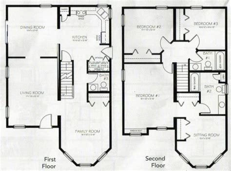 4 bedroom 4 bath house plans 2 story 4 bedroom 3 bath house plans archives new home plans design