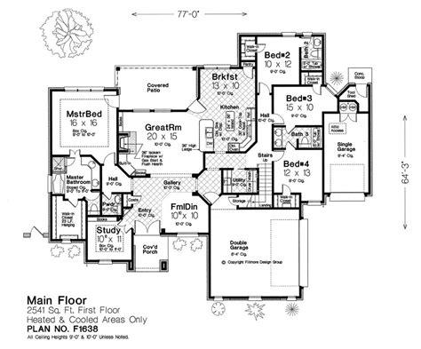 house floor plan builder house plans by fillmore design