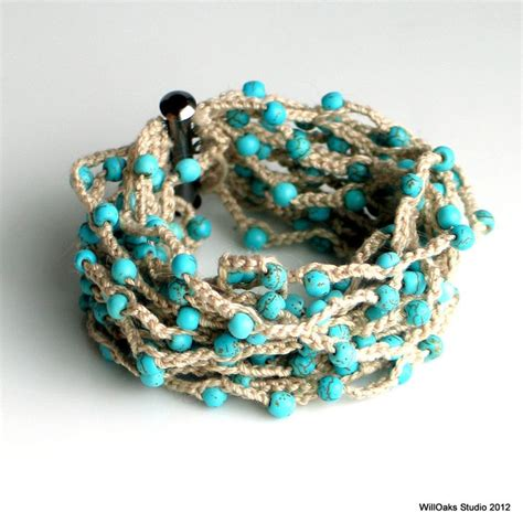 crochet beaded bracelet pattern 25 best ideas about crochet beaded bracelets on
