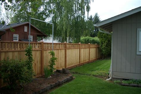 types of fences for backyard consider it done construction backyard fence