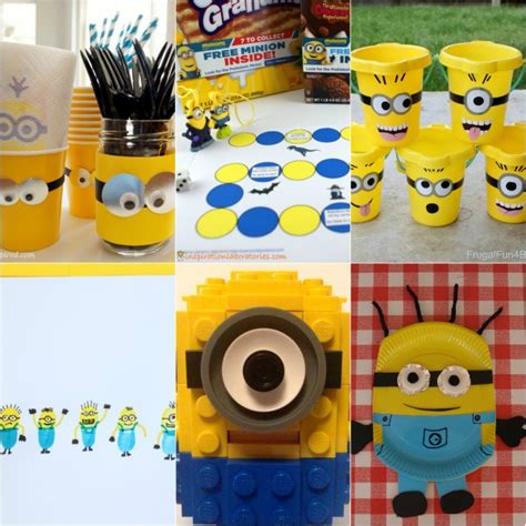 minion craft projects minion crafts activities for