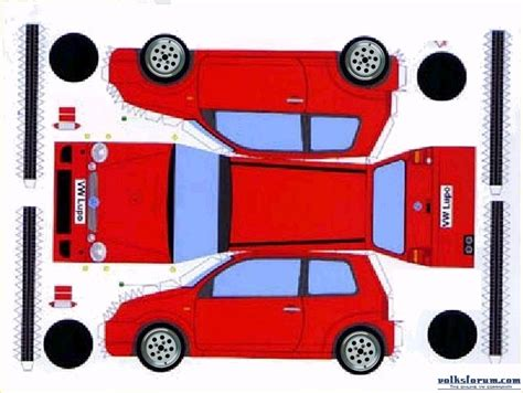 paper craft cars papercraft car model f40 paper for