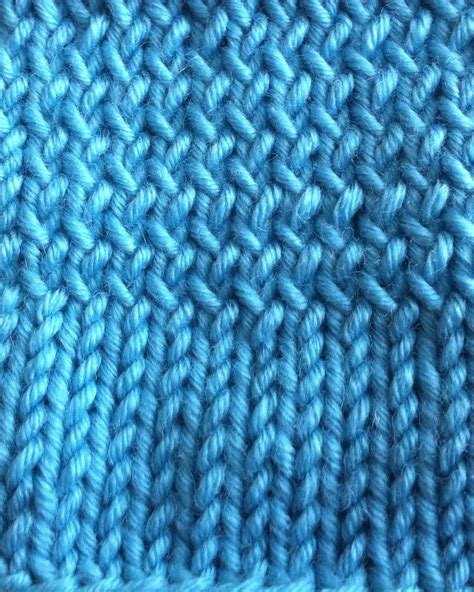 knit through back loop how to knit through the back loop new stitch a day