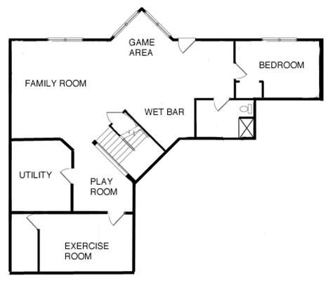 basement floor plan basement project approach and costs