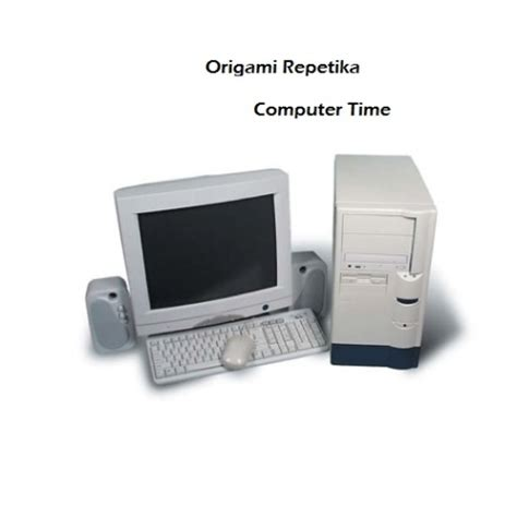 how to make a origami computer computer time origami repetika free