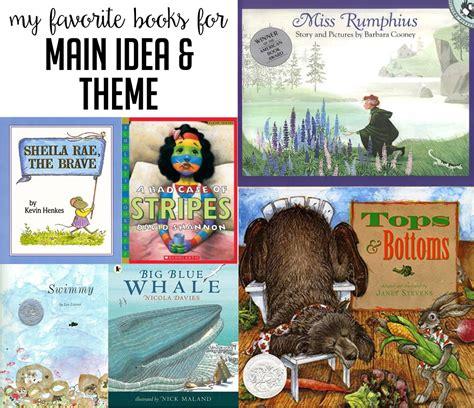 list of picture books to teach theme susan jones teaching books to teach idea and theme