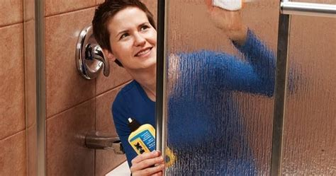 remove water stains from glass shower door remove all stains how to remove water stains