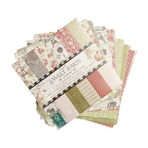 dove craft paper dovecraft sweet designer paper 6 x 6in 150gsm