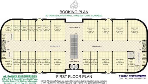 shopping centre floor plan building plans shopping center