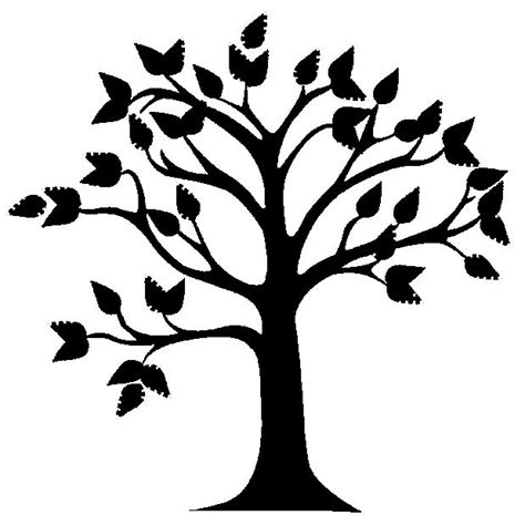 trees images free clipart trees black and white free clipartsgram