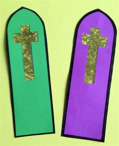 bookmark crafts for cross bookmark craft for bible crafts