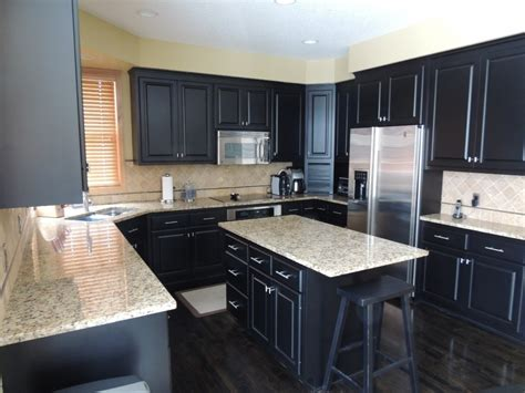 small kitchen with black cabinets u shaped small kitchen designs with black cabinet and