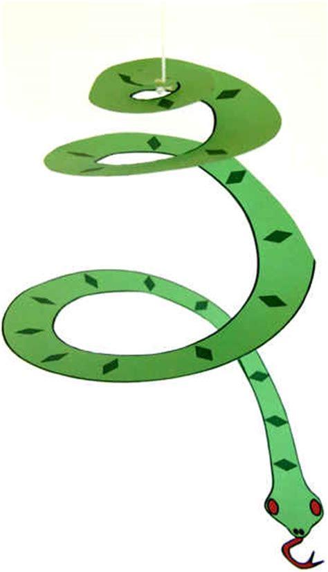 snake crafts for preschool crafts for hanging spiral snake craft