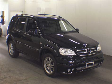 Mercedes Ml320 by 1999 Mercedes M Class Ml320 Japanese Used Cars