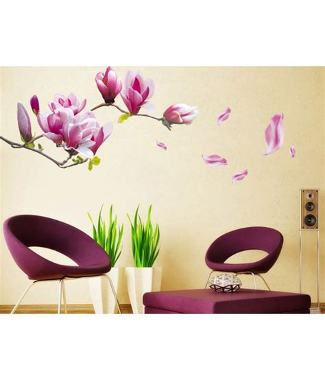 purple wall stickers 28 uberlyfe purple flowers wall stickers uberlyfe
