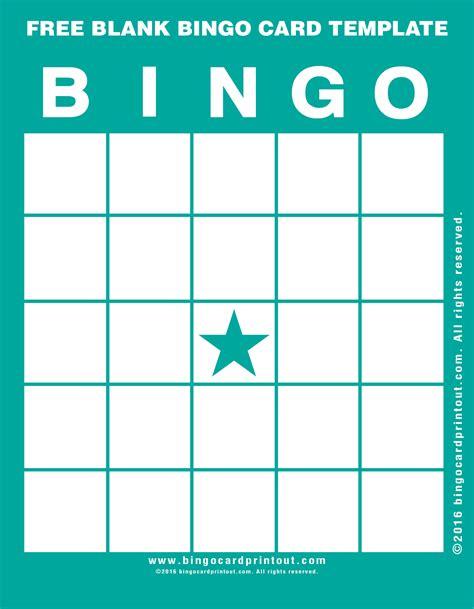 make a bingo card free free blank bingo card template bingocardprintout
