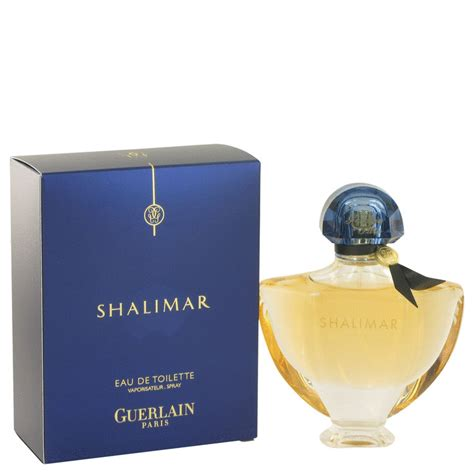 shalimar by guerlain eau de toilette spray 1 7 oz adorearoma